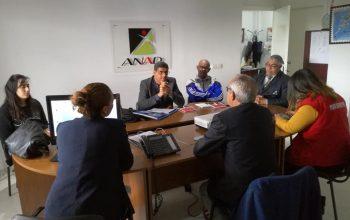 Visite de la délégation du Comité National Olympique et Sportif Djiboutien à l'ANAD