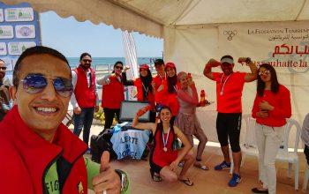 L'ANAD présente au Championnat d'Afrique de Triathlon Hammamet 2019