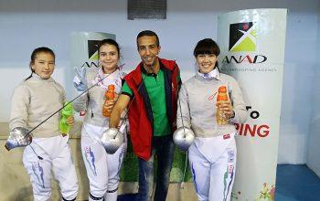 L'ANAD participe à la Coupe du Monde Sabre féminin