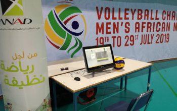 L'ANAD présente au Championnat d'Afrique – Volleyball